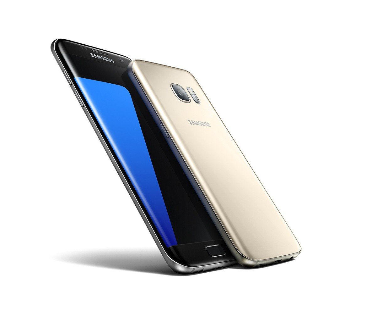 The front of the Galaxy S7 and Galaxy S7 Edge