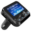 2-in-1 Car Charger & Bluetooth FM Transmitter BC32 - Black