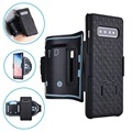 2-in-1 Detachable Samsung Galaxy S10+ Armband - Black