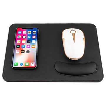 big sale 7bfb3 3481d 2-in-1 Qi Wireless Charging Mouse Pad w/ Wrist Support