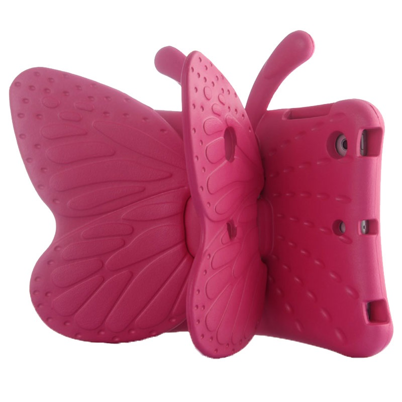 All Ipad Mini Models Kids Case Butterfly Hot Pink