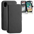 3Sixt NeoWallet 2-in-1 iPhone XR Leather Case - Black