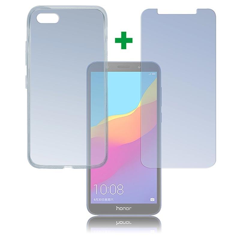 buy popular 582eb 69e68 Huawei Honor 7s 4smarts 360 Protection Set - Transparent