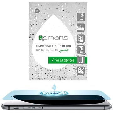 4smarts Liquid Glass Universal Screen Protector with Abrasion-proof Coating