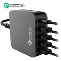 4smarts VoltPlug QC 3.0 Multiport Charging Station - Type-C & 4 USB - 40W