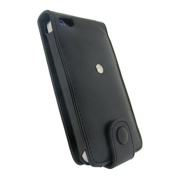 iPhone 4 / 4S iGadgitz Leather Case - Black