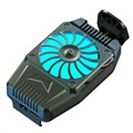 Smartphone Mini Heat Dissipation Cooler H15 - Black