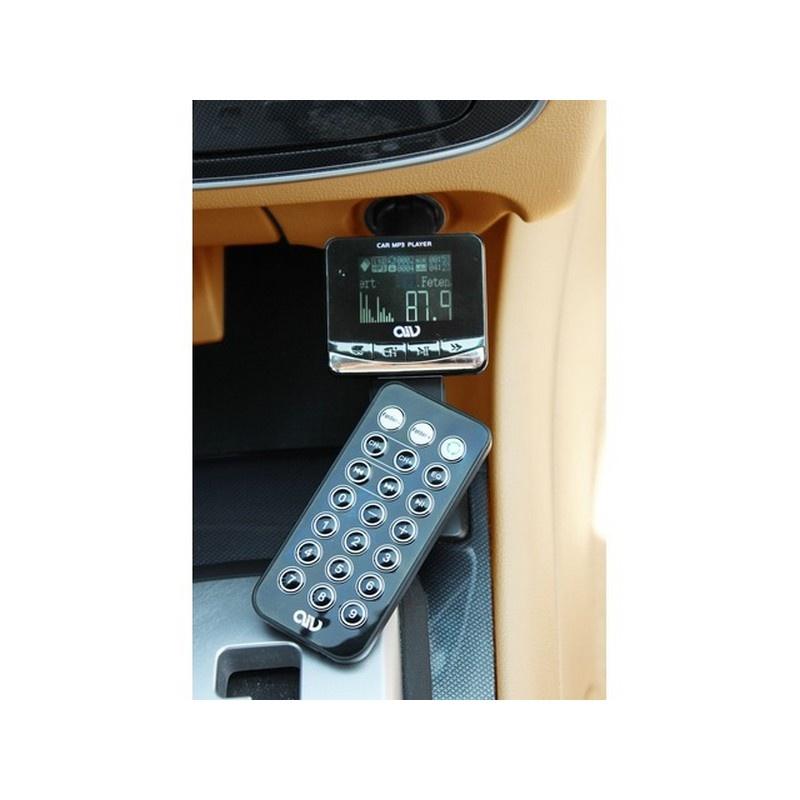 AIV FMT893 RDS FM Transmitter / Mp3 Player / USB Car Charger
