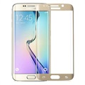 Samsung Galaxy S6 Edge Amorus Full Coverage Screen Protector - Gold