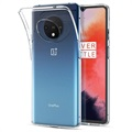 Anti-Slip OnePlus 7T TPU Case - Transparent