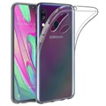 Anti-Slip Samsung Galaxy A40 TPU Case - Transparent