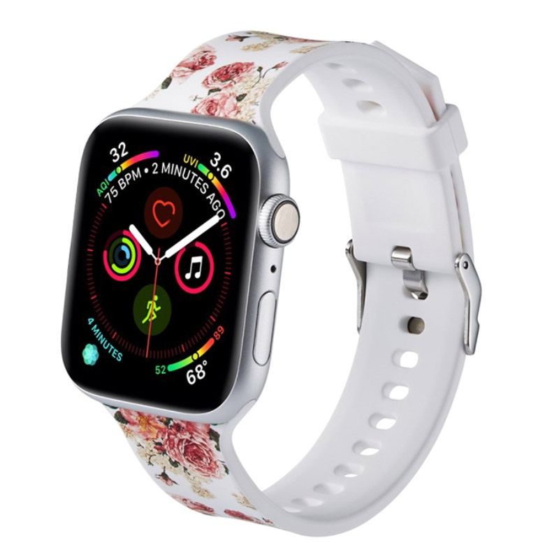 Apple Watch 12345 Stylish Silicone Band 38mm, 40mm