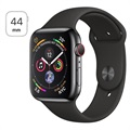 Apple Watch Series 4 LTE MTX22FD/A - Stainless Steel, Sport Band, 44mm, 16GB - Black Space