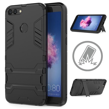 new concept a2b86 2c3ad Huawei P Smart Armor Hybrid Case with Stand