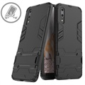 Huawei P20 Armor Hybrid Case with Stand - Black