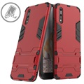 Huawei P20 Armor Hybrid Case with Stand - Red