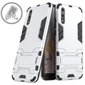 Huawei P20 Armor Hybrid Case with Stand - Silver