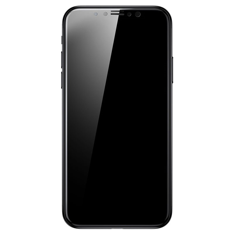 my iphone screen is black iphone x baseus 3d tempered glass screen protector 17843