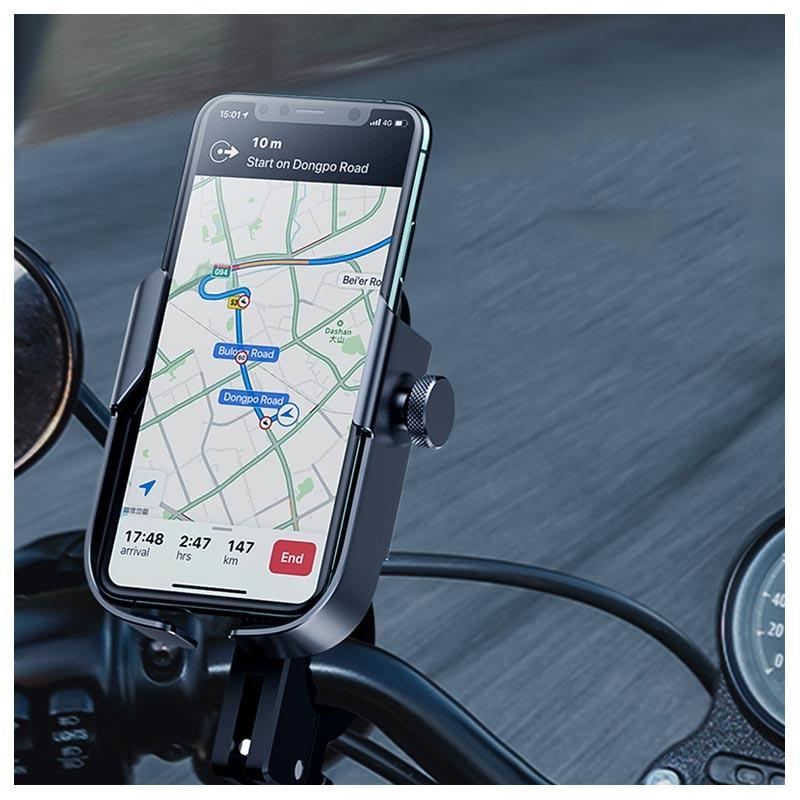 Baseus Armor Motorcycle Phone Holder SUKJA-01 - 4.7-6.5