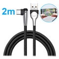 Baseus MVP Mobile Game USB 3.1 Type-C Cable - 2m - Black