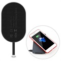 Baseus Microfiber Qi Wireless Charging Receiver - Lightning - Black