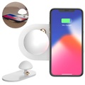 Baseus Mushroom Fast Qi Wireless Charger with Lamp - 10W - White