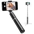 Baseus Selfie Stick & Tripod Stand with Remote Control - Silver / Black