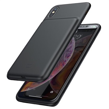 low priced c64b7 bcf43 Baseus Smart iPhone X / iPhone XS Silicone Battery Case - Black
