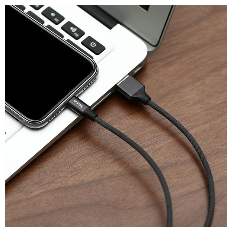 Baseus Yiven USB 2.0 / Lightning Cable - 1.8m