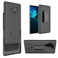 Samsung Galaxy Note9 Belt Clip Hybrid Case - Black