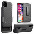 iPhone 11 Hybrid Case with Belt Clip - Black
