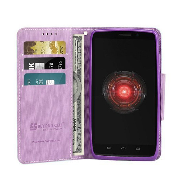 Motorola Droid Ultra Beyond Cell Infolio Wallet Leather Case - Mint    Motorola Droid Ultra Case