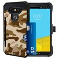 LG G5 Beyond Cell Rugged Kombo Shell Case - Desert Camouflage