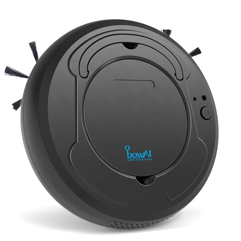 BowAI 3-in-1 Smart Robot Vacuum Cleaner - 1200Pa, 28W