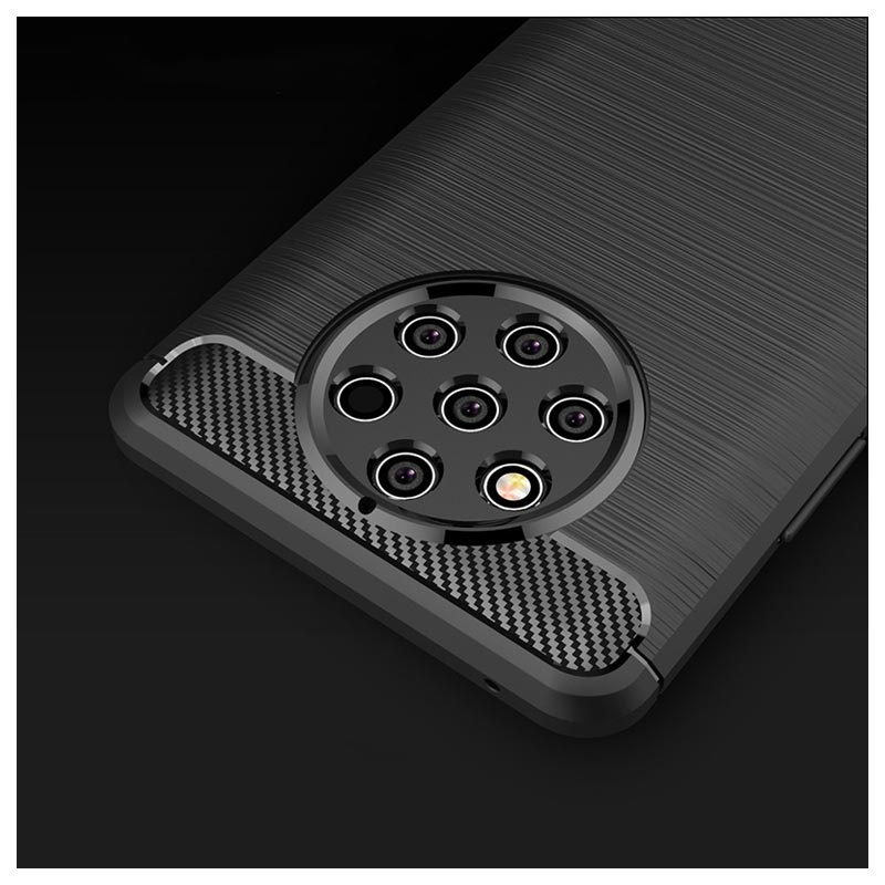new style e25c8 3d02d Brushed TPU Nokia 9 PureView Cover - Carbon Fiber