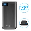 Cager S100 Dual USB Power Bank - 10000mAh - Black