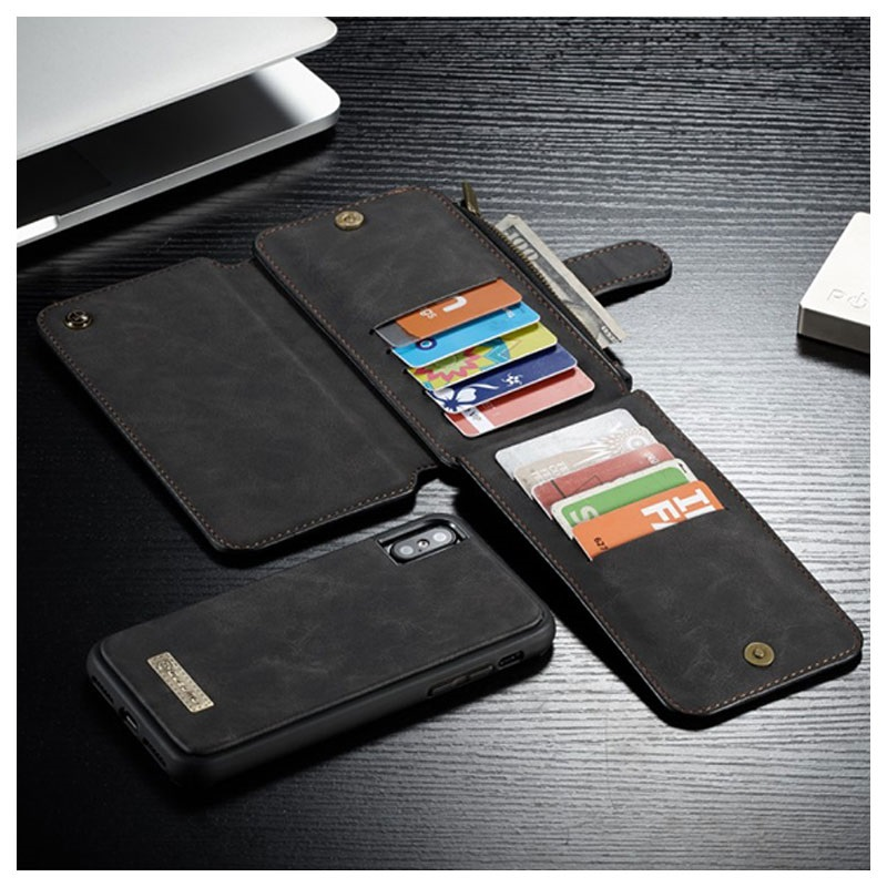 68f2c7bb8460 Caseme 2-in-1 Multifunctional iPhone XS Max Wallet Case
