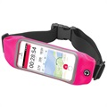 "Celly RunBelt View Universal Sports Belt - 5.5"" - Pink"