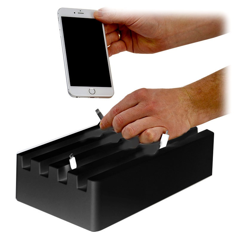 Charge Pit 6 Port Universal Charging Station
