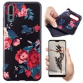 Color Series Huawei P20 TPU Case - Roses
