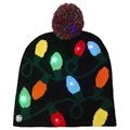Cozy Winter Beanie Hat with LED Light