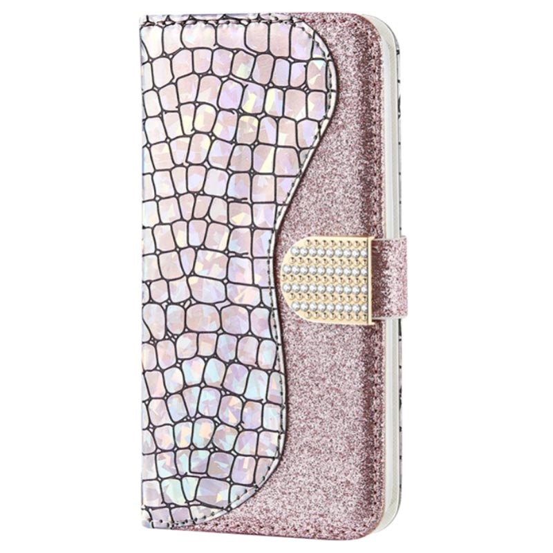 Croco Bling iPhone 11 Wallet Case