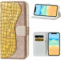 Croco Bling iPhone 12/12 Pro Wallet Case