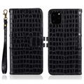 Crocodile Series iPhone 11 Pro Max Wallet Case