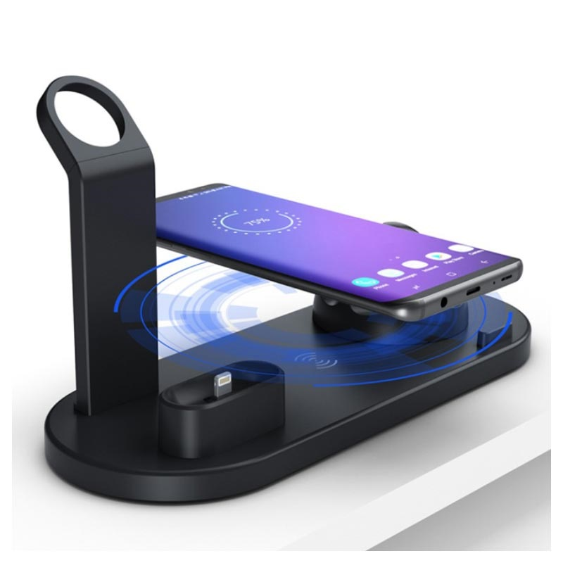 Docking Station with QI Wireless Charger UD15