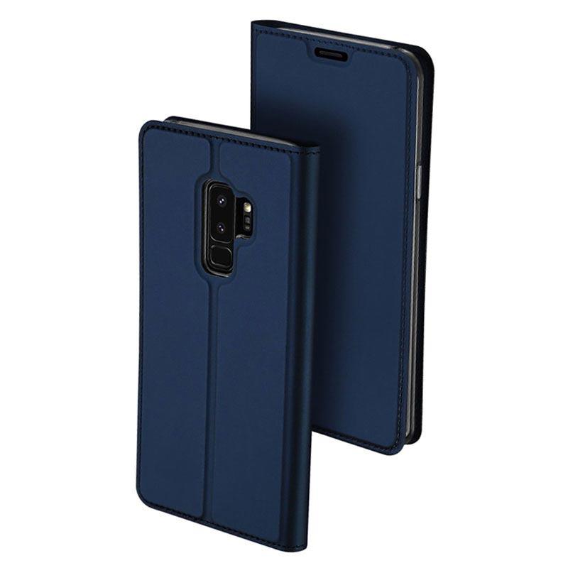 samsung s9 flip case blue