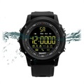 EX17 Waterproof Bluetooth 4.0 Sport Smartwatch - Black