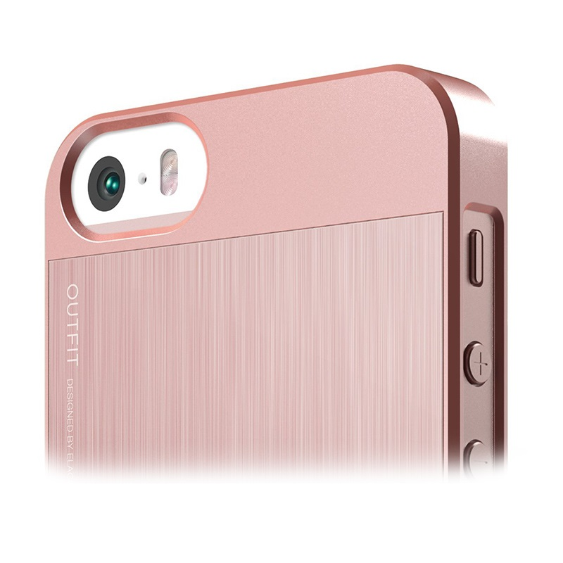 iphone 5 5s se elago outfit matrix case rose gold. Black Bedroom Furniture Sets. Home Design Ideas
