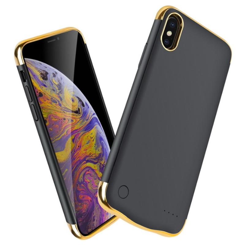 low priced a063f bd8e3 Electroplated iPhone XS Max Battery Case