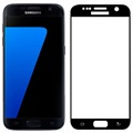 Samsung Galaxy S7 Fema 3D Full Size Tempered Glass Screen Protector - Black